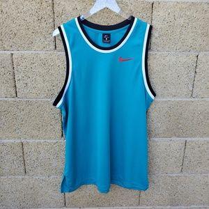 Nike Dri Fit Blue Jersey